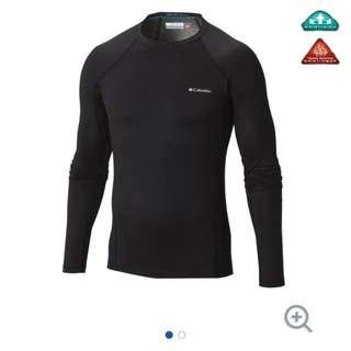(減價) Columbia 全新男裝保暖內衣