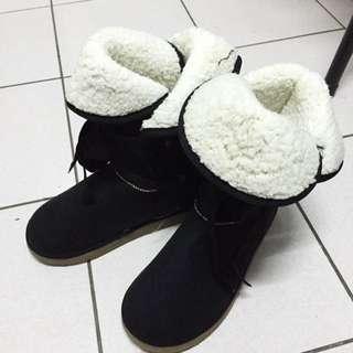 ✨中統綁帶雪靴