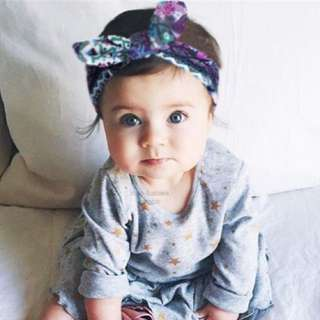 CLEARANCE - Bow Headwrap (UP$4.50)