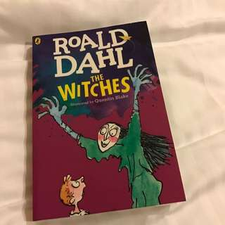 🆕The Witches by Roald Dahl