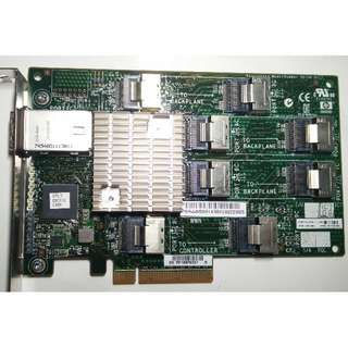 HP ProLiant 24 Bay 3Gbps SAS PCI-E Expander Card HSTNM-B017 #468405