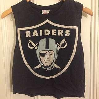Raiders Crop Top