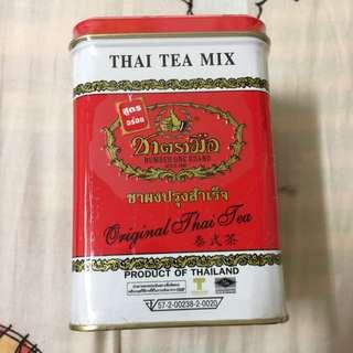 泰國手標茶 泰式奶茶必備茶葉 全新未拆