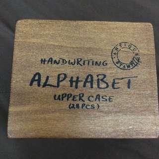 大寫字母 印章