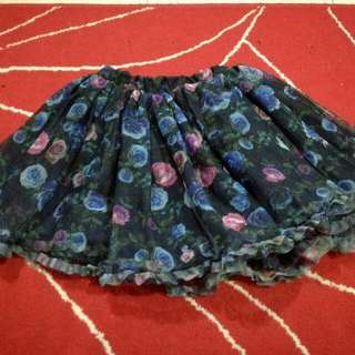 H&M Kids Tutu Skirt (Floral)