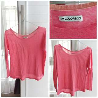 Colorbox Pink Casual Top