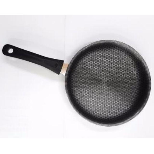 廚皇白金好熱鍋系列-26cm5D鑽石網狀不沾平底鍋(無蓋))