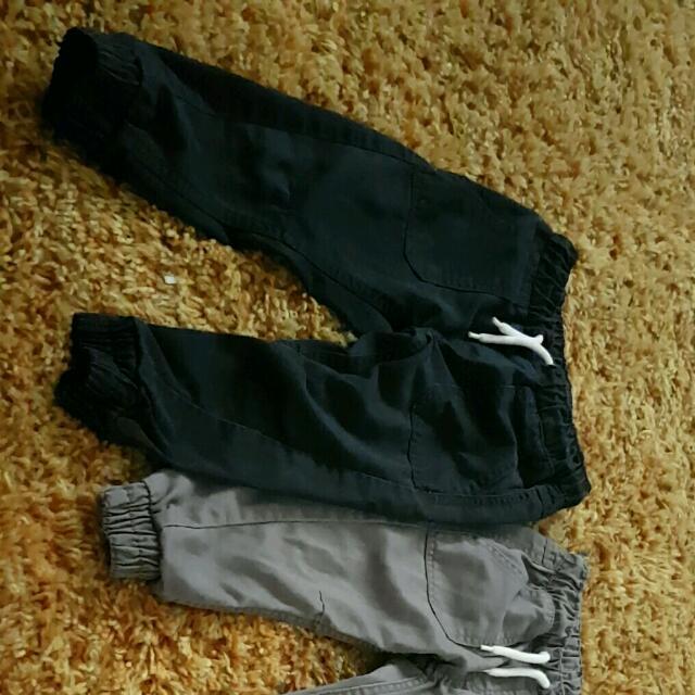 3x chino pants, size 3 boys