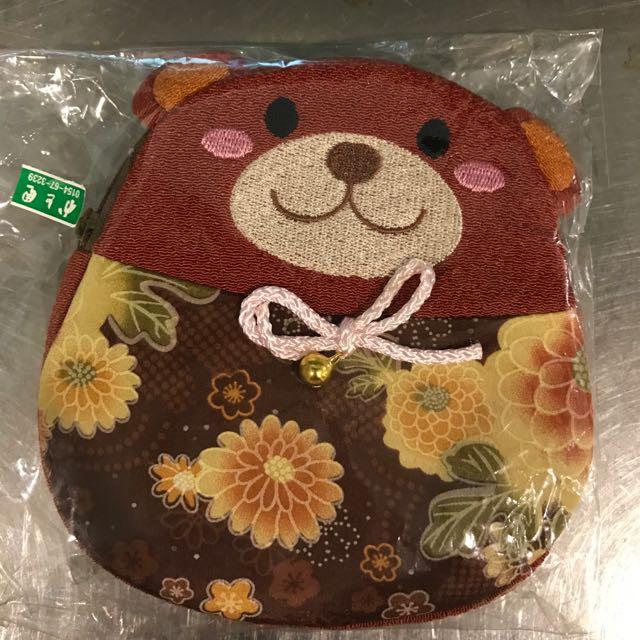 日本小熊錢包