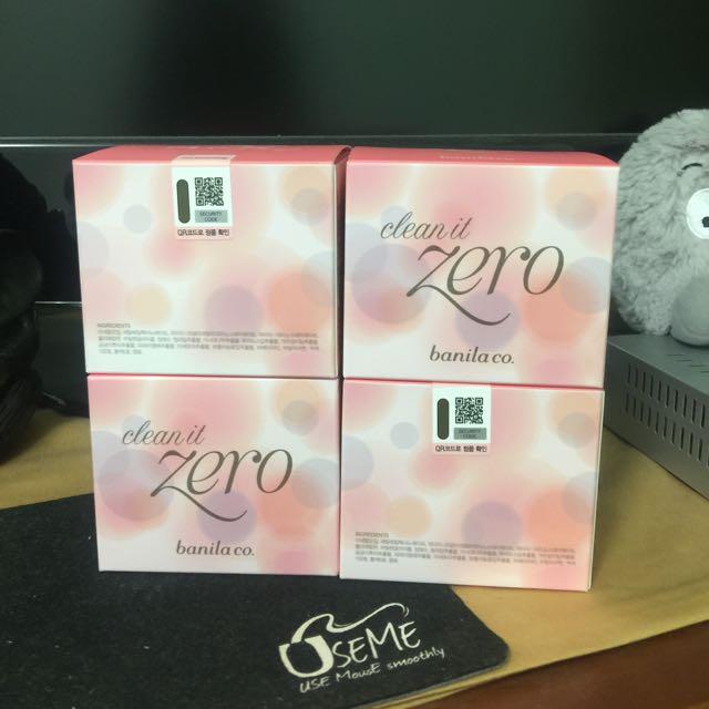 韓國銷售No.1  原裝正貨 韓國必買 Banila Co. Zero 卸妝霜 100ml