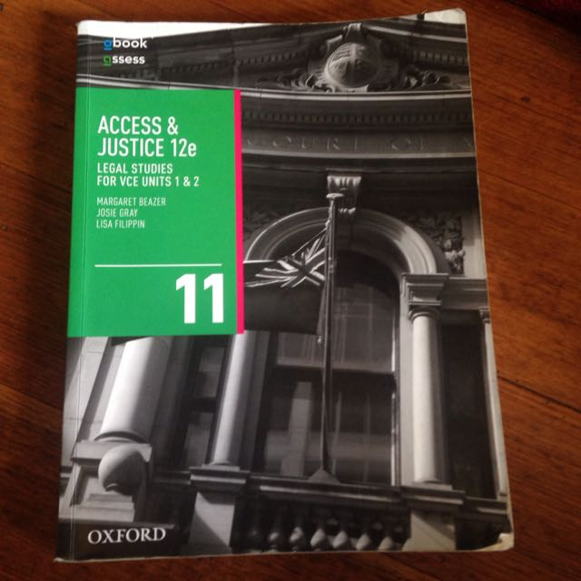 Access And Justice 12e Units 1&2