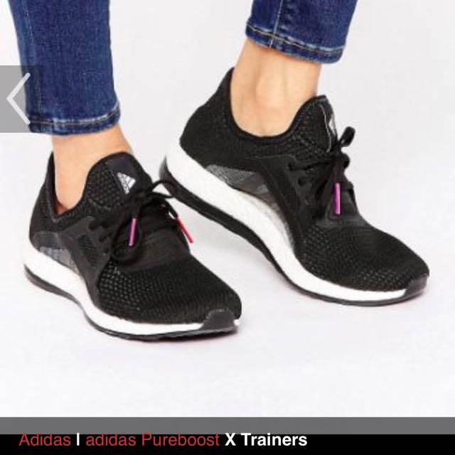 adidas Pure Boost X trainers 透氣避震