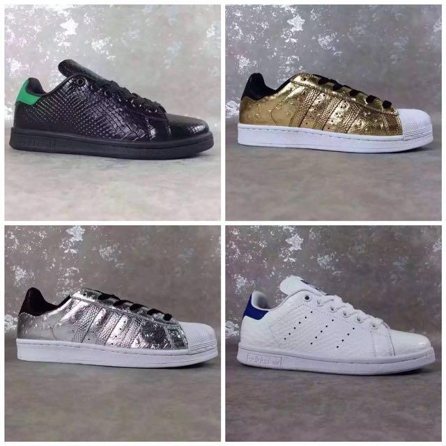 best sneakers f8759 50e5a Adidas Stan Smith Crocodile Leather