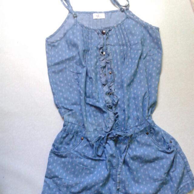Anchor Design Romper/skirt