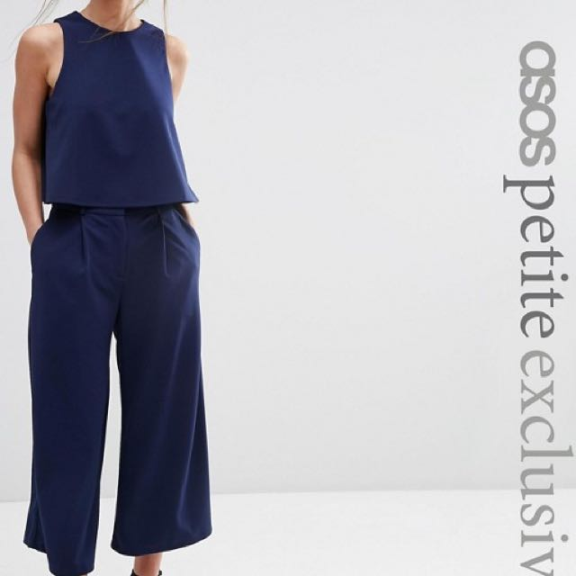 ASOS Co-it's Luxe Tailored Top And Pants Size Au 6