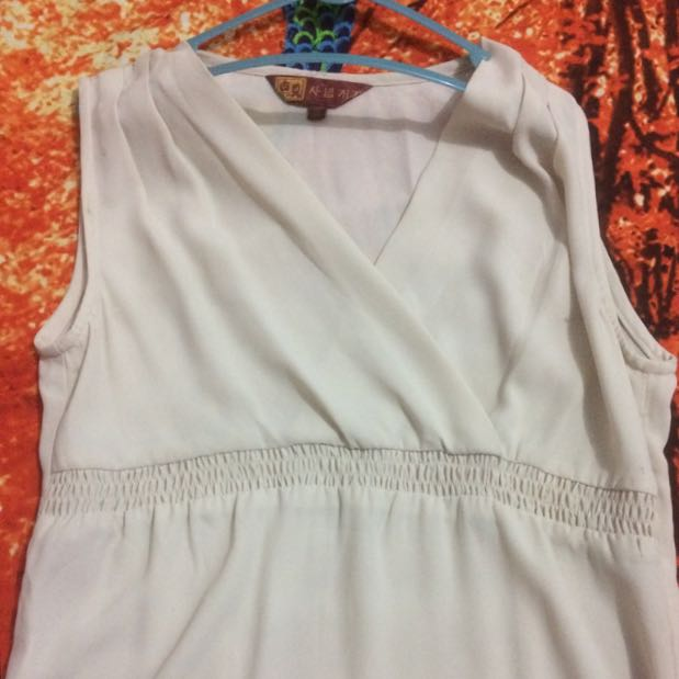 Atasan/blouse Cream #barteryuk