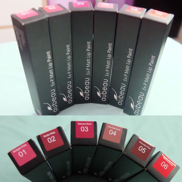 Aubeau Liquid Lipstick (1 Dan 6)
