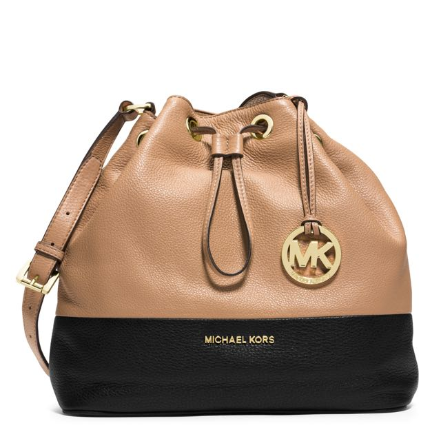 AUTHENTIC NEW Michael Kors Crossbody Drawstring Bag