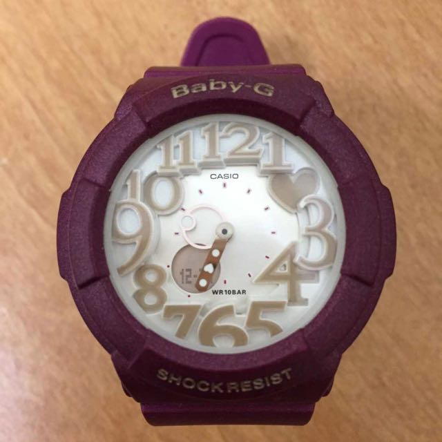 Baby-G桃紅錶