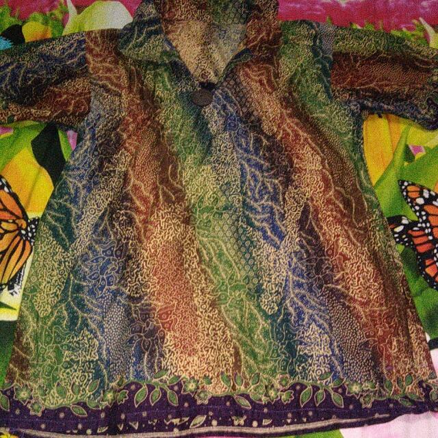 Baju Batik Lengan Pndk