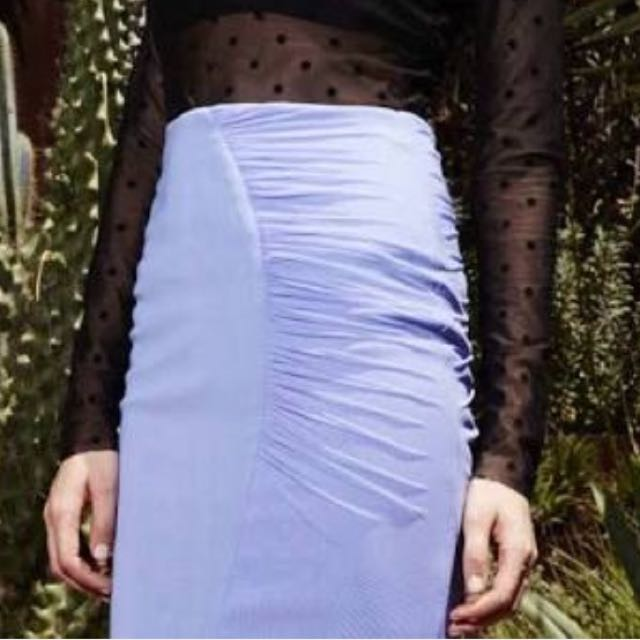 Bec and Bridge Mauve Skirt