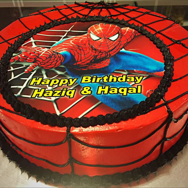 BIRTHDAY CAKES SPIDER MAN Food Drinks Baked Goods On Carousell
