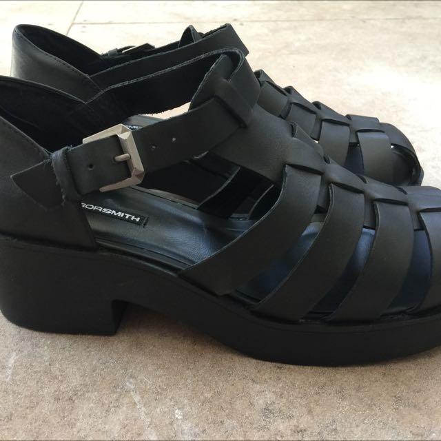 Black Windsor Smith shoes. Size 9.