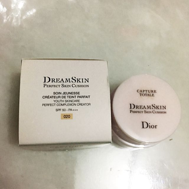 Brand New Christian Dior Dreamskin Perfect Skin Cushion Youth Skincare Perfect Complexion Creator Spf 50 Pa Capture Totale