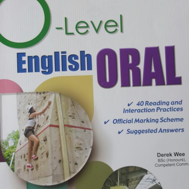 Casco ENGLISH O LEVEL ORAL
