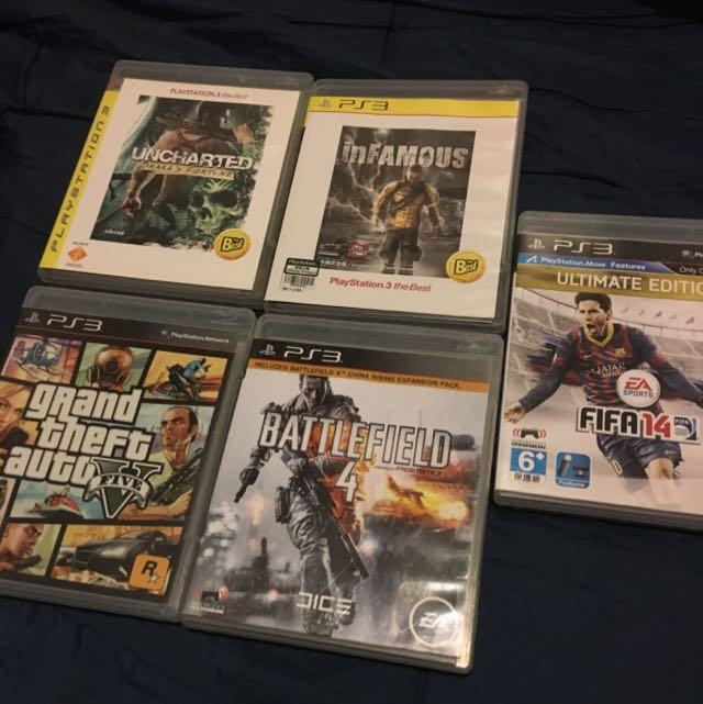 CD PS 3 & 4 (beda harga Masing2 Item)