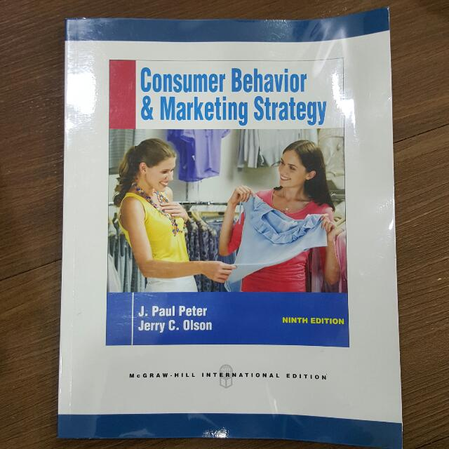 Consumer Behaviour & Marketing Strategy 9th Edition - Mc Graw Hill