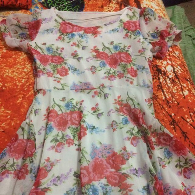 Dres Bunga / Flower Dress #barteryuk