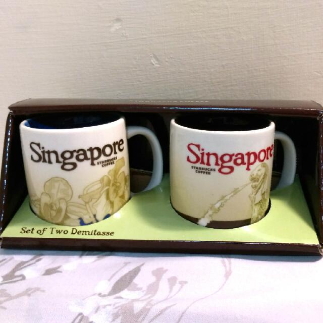 星巴克新加坡Espresso Cups