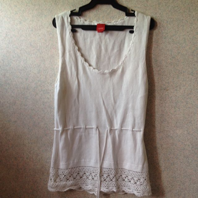 ESPRIT White Sleeveless