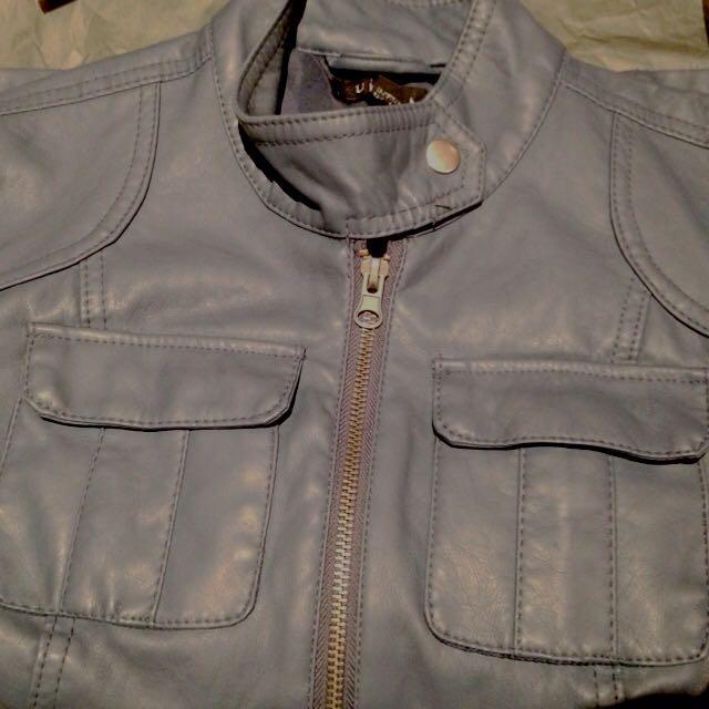 False Leather Jacket