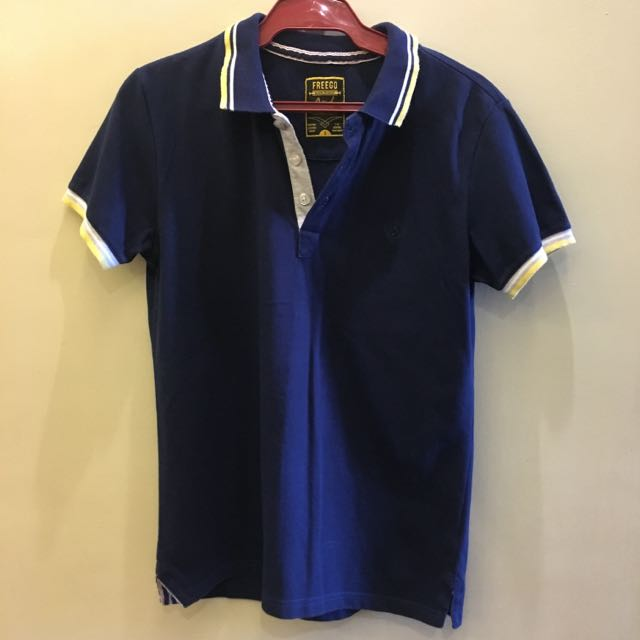 Freego Dark Blue Polo Shirt