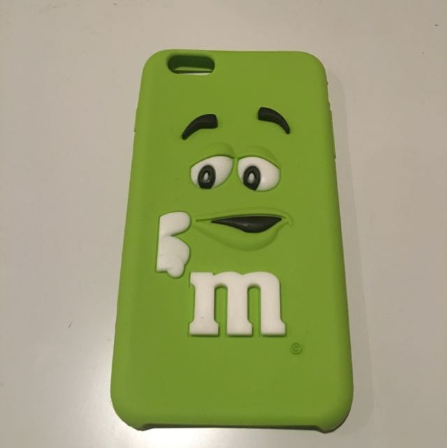 Green MnM Phone Cover