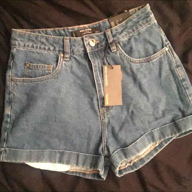 High Waisted Factories Shorts