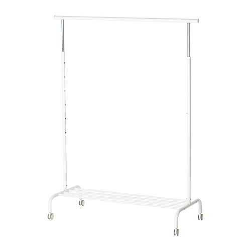 Ikea RIGGA Clothes rack (White)