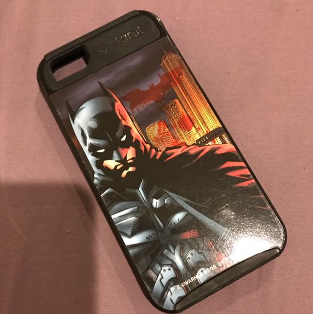 iPhone 5/5S/SE Black Batman case
