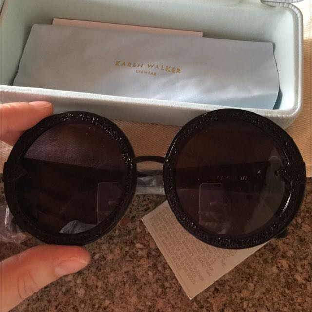 Karen Walker Sunglasses New With Tags