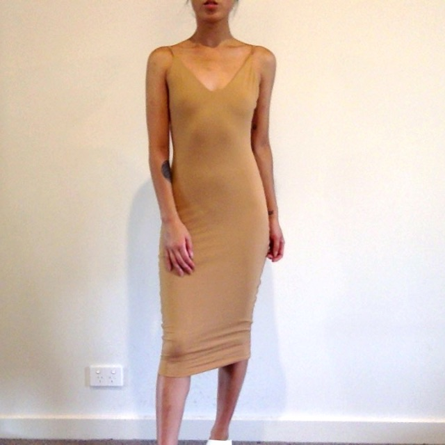Kookai tan dress