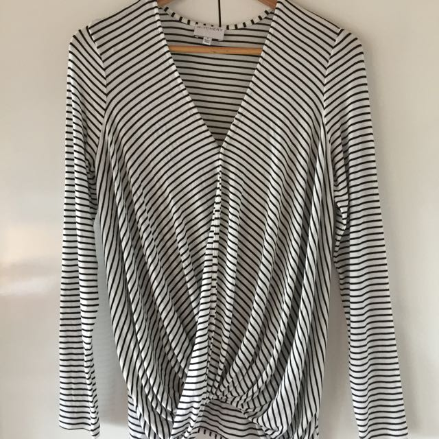 Ladies witchery Stripe Long Sleeve Too