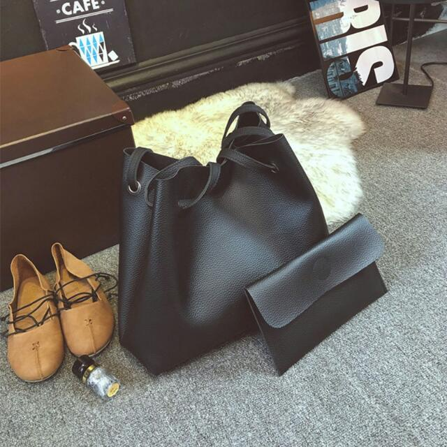 Leather 2-in-1 Bag