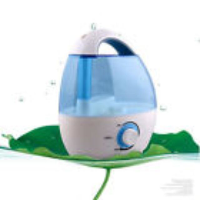 LIKE NEW Home Office 1.5L Ultrasonic Air Humidifier Steam Mist Air Purifier Diffuser 15W