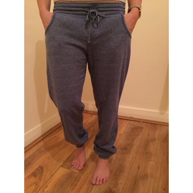 LORNA JANE Trackpants Blue Marble S