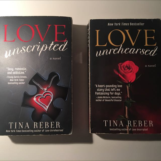 Love Unscripted Triology Books By Tina Reber