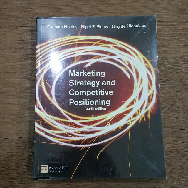 Marketing Strategy & Competitive Positioning - Prentice Hall