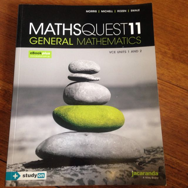 NEW Maths Quest 11 General Mathematics