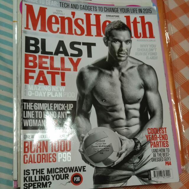2b77fde096e Men s Health magazine
